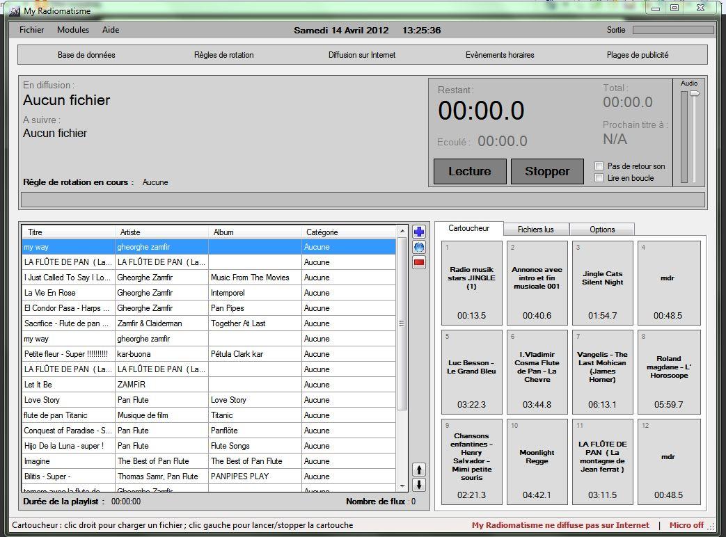 Cr er sa web radio facilement for Ouvrir une porte avec une radio